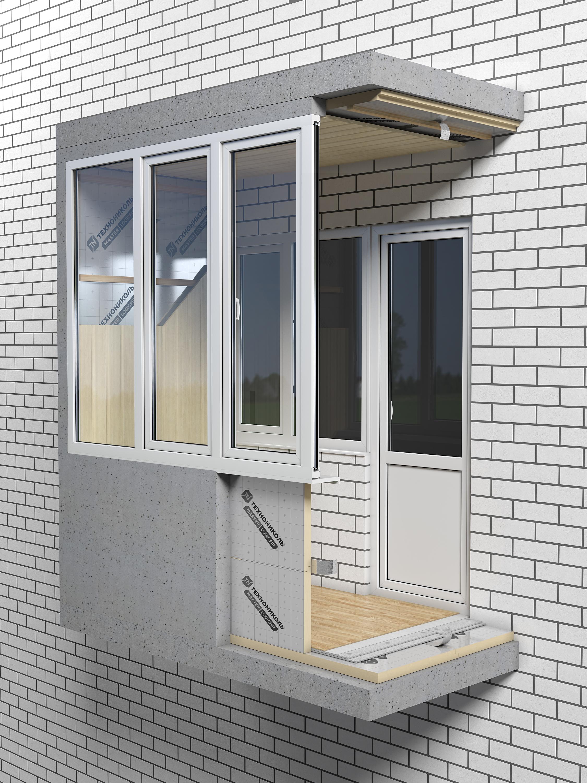 Logicpir балкон теплоизоляция.