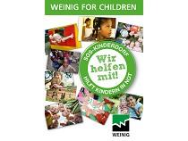 Weinig передает 13 000 евро фонду «Детские деревни-SOS»